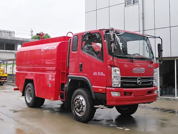 【国五】凯马四驱5吨消防洒水车