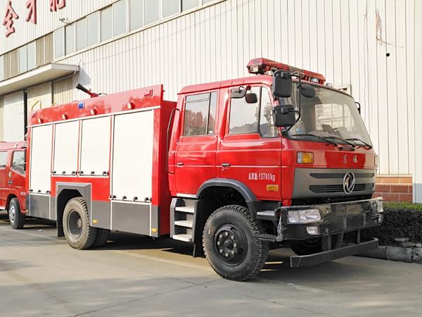 【国五】东风145水罐消防车5吨