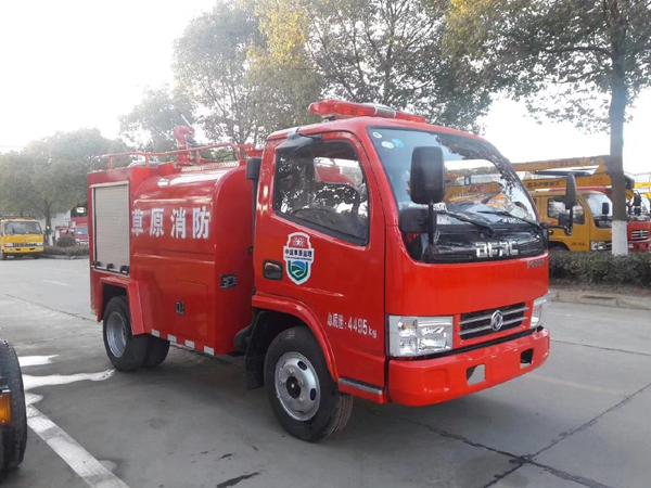 【国五】东风(蓝牌)单排2吨消防洒水车