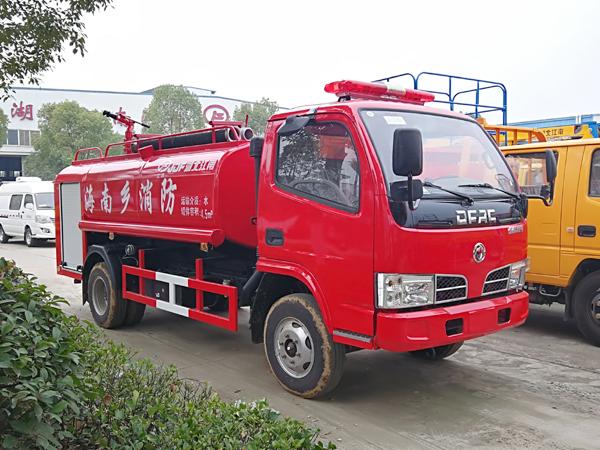 【国五】凯普特4吨消防洒水车