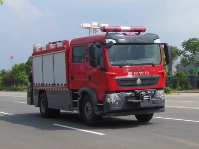 【国五】豪沃T5G抢险救援消防车