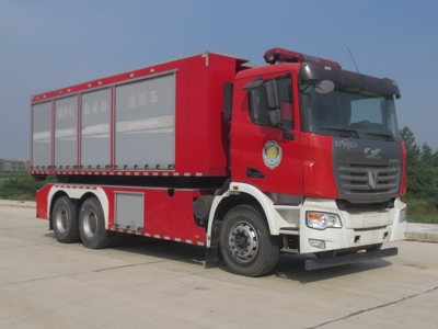 【国五】联合重卡后双桥自装卸式消防车