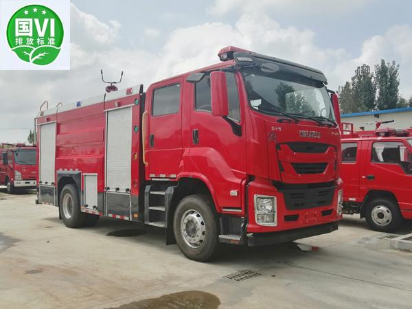 【国六】五十铃FVR-6.5方泡沫消防车