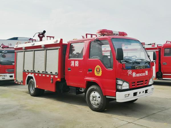 【国六】庆铃2吨泡沫消防车-3360轴距(600P)